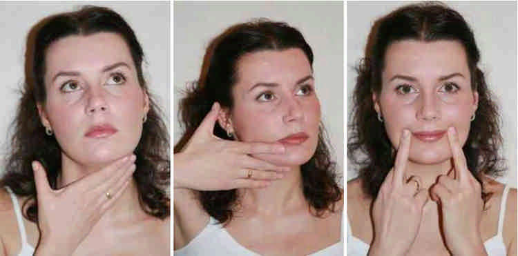омолаживающий массаж