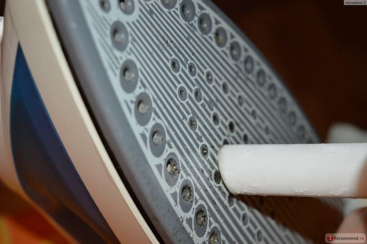 Как очистить утюг от пригара на подошве