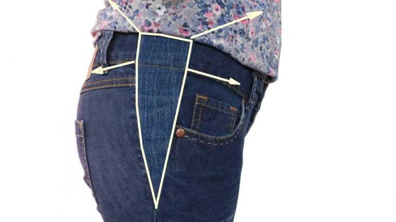 Все о растяжке джинс: как удлинить, расширить в поясе и бедрах, увеличить в талии