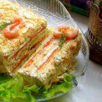 Вкусные закусочные торты