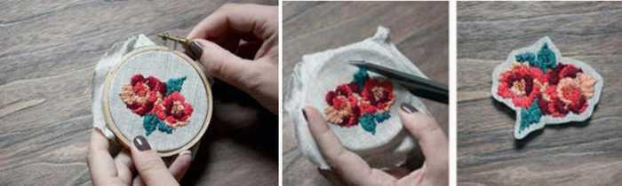 Как обновить старые вещи: делаем вышивку на одежде своими руками