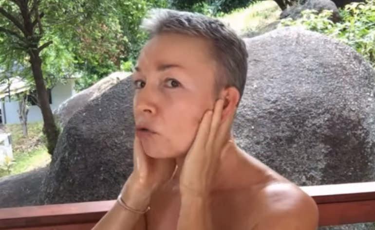 Техника лимфодренажа лица с Еленой Пятибрат на каждый день для тех, кому за 50