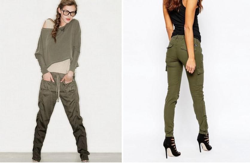 С чем носить женские брюки