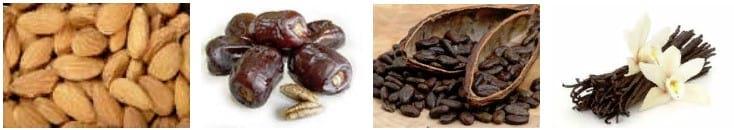 конфеты из фиников и орехами