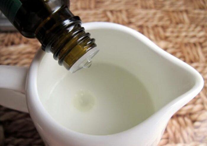 добавляем масло в шампунь