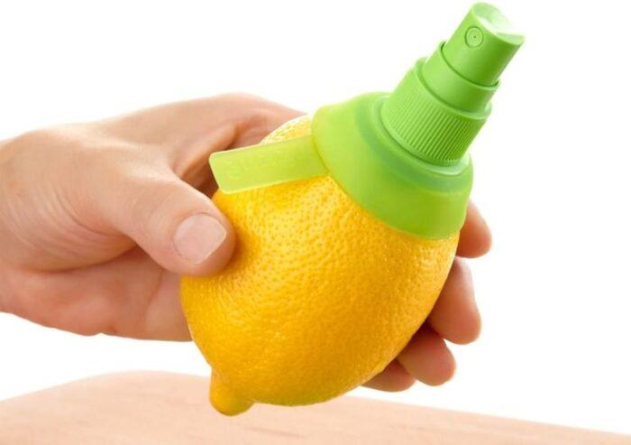 Лимонный спрей для волос