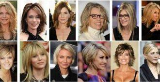 Стрижки для женщин после 40 лет на короткие и средние волосы