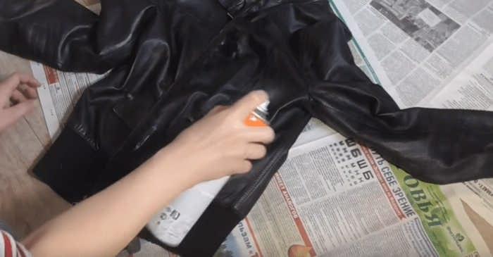 Как покрасить кожаную куртку в домашних условиях