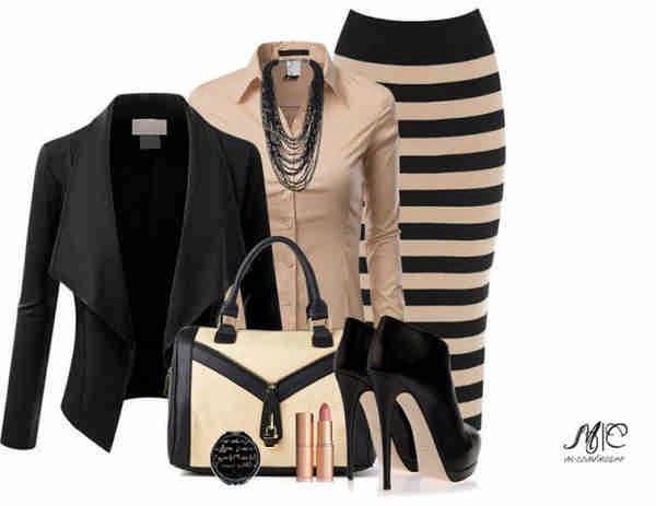 Как и с чем носить юбку карандаш - тенденции моды