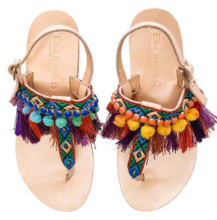 Легкие летние женские сандалии: 12 самых удобных моделей